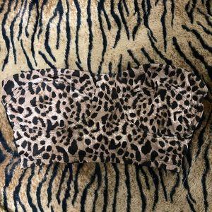 💘3 for $25💘 Leopard bandeau top